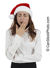 疲倦, 聖誕節, 女商人