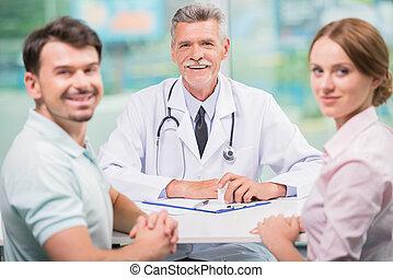 病人, 醫生