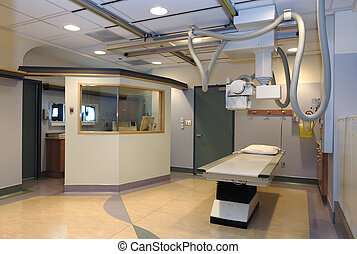 病室, x 線
