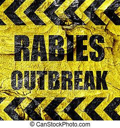 病毒, 概念,  rabies, 背景