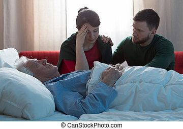 病気, 患者, がん, terminally