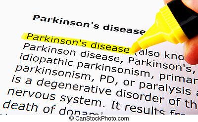 病気, parkinson's