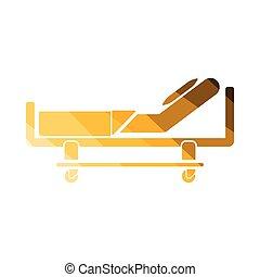 病院ベッド, アイコン