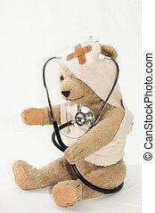 病院, 熊, テディ