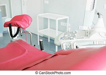 病院, 現代, 作動 部屋