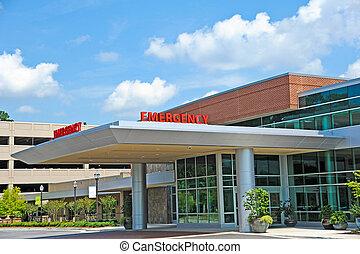 病院, 部屋, 緊急事態