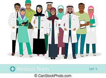 病院, muslim, チーム