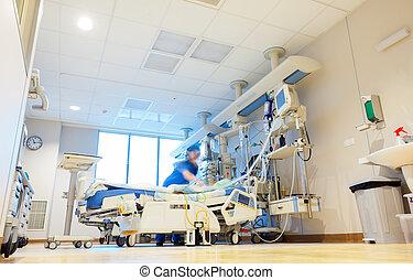 病院, reanimation, 部屋