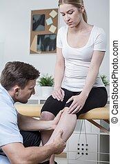 痛み, 患者, 足