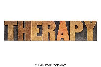 療法, 単語, 中に, 木, タイプ