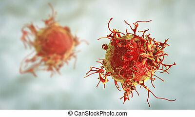 癌症, 细胞, 皮肤