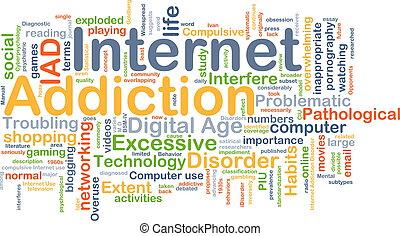 癮, 概念, 背景, 網際網路
