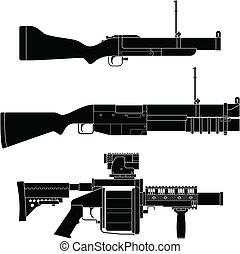 発射装置, 手榴弾