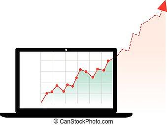 発生する コンピュータ, グラフ