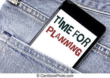 発表, 組織しなさい, 置かれた, 電話, ビジネス, 携帯電話, モビール, テキスト, 提示, pocket., ジーンズ, プロジェクト, 電話, 書かれた, 概念, 計画, planning., 時間, 前部, 手書き, 人