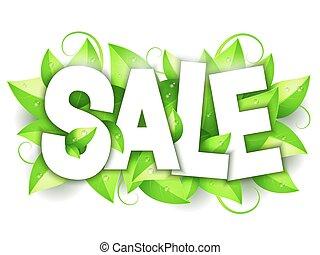 発表, 緑, セール, 自然