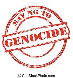 発言権, genocide, いいえ