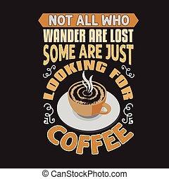 発言, コーヒー, よい, 引用, デザイン, コレクション