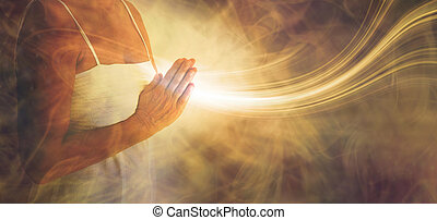 発送, 愛, ライト, 祈とう, 平和である, から