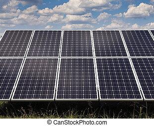 発電所, 使うこと, 回復可能, 太陽エネルギー