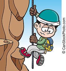 登山家, 岩