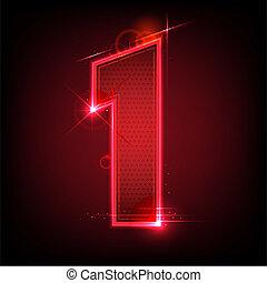 發光, 第七數字