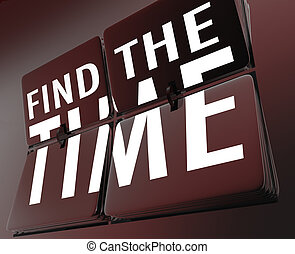發現, the, 時間鐘, 用指頭彈, 瓦片, 管理, 你, 小時