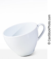 白いコップ