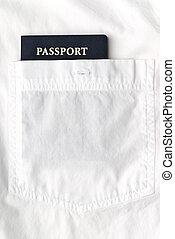 白いシャツ, パスポート