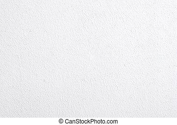 白い壁, 手ざわり