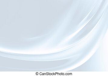 白い朱子織