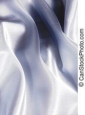 白い朱子織, 背景