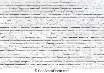 白い煉瓦, 壁, ∥ために∥, a, 背景