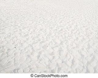 白い砂, 背景