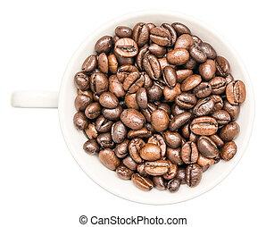 白い豆, コーヒーカップ