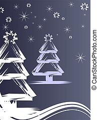 白い クリスマス, 木