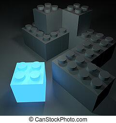 白熱, ブロック