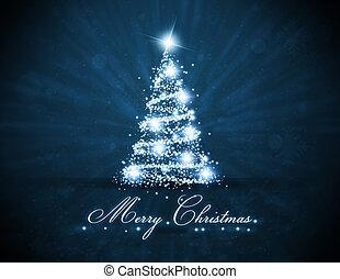 白熱, 木, bluel, クリスマス
