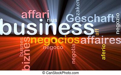 白熱, 概念, ビジネス, 背景