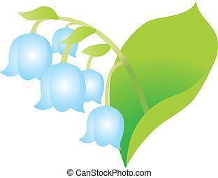白色的花儿, 背景