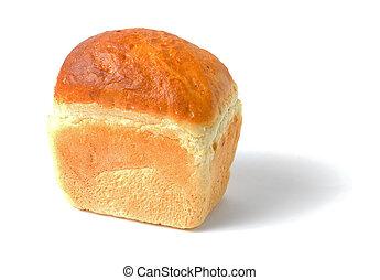 白色的面包