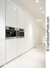 白色, 厨房