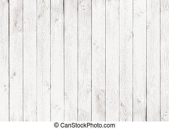 白色, 木頭, 背景, textured