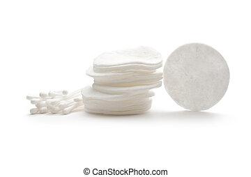 白色, 棉花, 棍, 拖把, 被隔离