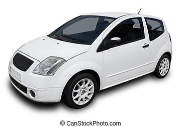 白色, 汽車