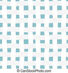 白色, 矢量, 插圖, 纖維, 圖案, 交織, -