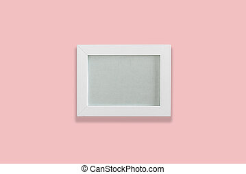 白色, 空, 照片框架