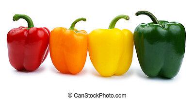 白色, 紅辣椒, 上色, 被隔离