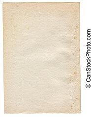 白色, 紙, 被隔离