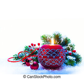 白色, 裝飾, 聖誕節, 背景